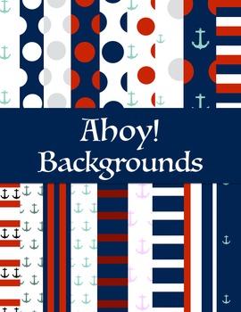 Ahoy! Nautical Themed Backgrounds