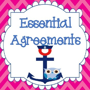 Ahoy Owl Essential Agreements
