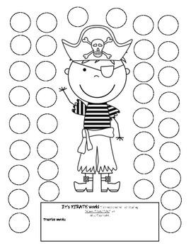 Ahoy, Pirate Pete - Dot Art