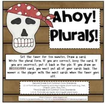 Ahoy! Plurals!