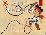 Ahoy Speechies (a NO PREP Pirate unit for the SLP)