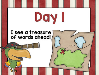 Ahoy There, Matey – X Marks the Spot – Word Building Diphthongs oi oy