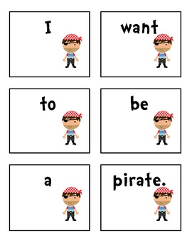 Ahoy There! - Pirate Themed Literacy & Math Centers