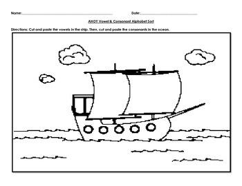Ahoy! Vowel & Consonant Alphabet Sort