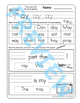 -Ai & -Ay Phonics Worksheets