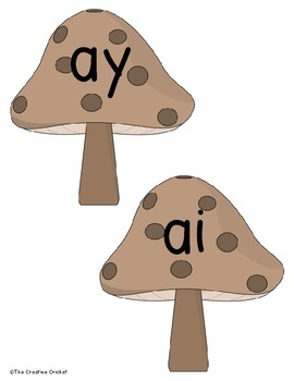 Ai and Ay Read and Write the Room / Word Sort
