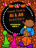 Ai and Ay Vowel Team Game