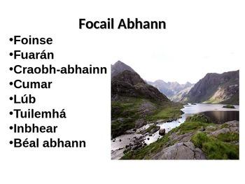 Aibhneacha - Tíreolaíocht as Gaeilge // Rivers - Geography in Irish