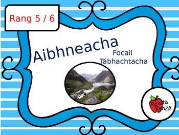 Aibhneacha - Tíreolaíocht as Gaeilge // Rivers - Geography
