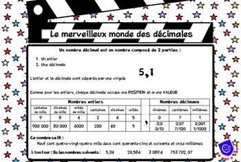 Aide-mémoire sur les décimales