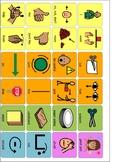 Aided Language Stimulation Cutting Board