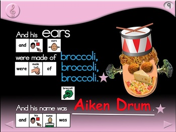 Aiken Drum - Animated Step-by-Step Song - PCS