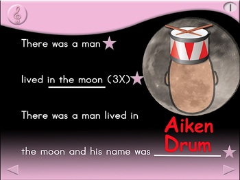 Aiken Drum - Animated Step-by-Step Song - Regular