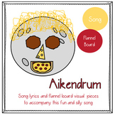 Aiken Drum with Visual Activity: Food/Nutrition, Circle Ti
