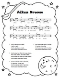 """Aiken Drumm"" Printable Song Sheet"