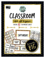 Aim High Classroom Labels and Organizers