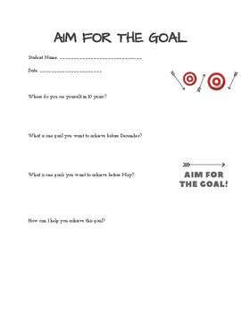 Aim for the Goal-We Teach Joy