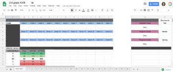 AimsWeb Digital Data Tracker 2nd grade