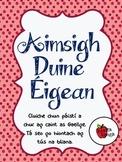 Aimsigh Duine Éigean - Cluiche Labhartha Gaeilge // Oral I