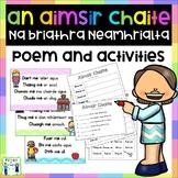 Aimsir Chaite - Na Briathra Neamhrialta - Poem and Activities