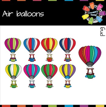 Air Balloons Clips