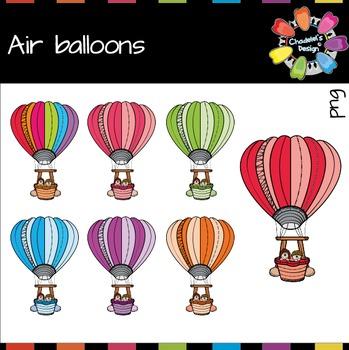 Air Balloons Clips