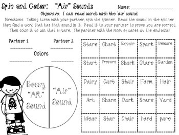 Air /  Bossy AR Spin & Color