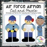Veterans Day Craft {Air Force Airman}