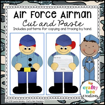 Air Force Airman Cut and Paste