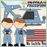 Air Force Clip Art - Military Clip Art - Armed Forces Clip Art -CU ClipArt & B&W