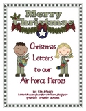 Air Force Christmas Friendly Letters