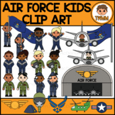 Air Force Kids l Armed Forces & Community Helpers Clipart
