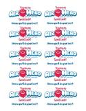 Air Head Testing Treat Labels
