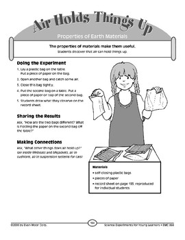 Air Holds Things Up (Properties of Earth Materials)