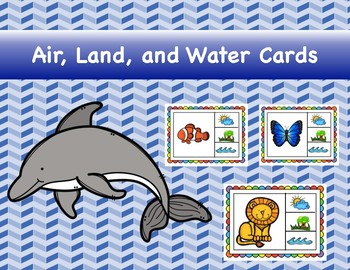 Air, Land, Water Cards