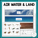 Air, Land & Water | Nature Curriculum in Cards | Montessori