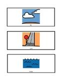 Air, Land, Water Transportation Match