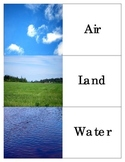Air-Land-Water Transportation: Montessori Three Part Cards