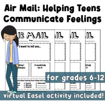 Air Mail: Helping Teens Communicate Feelings (Trauma Informed) (Family)
