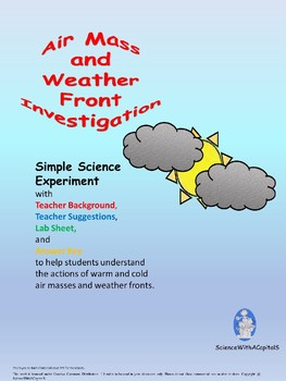 Air Mass and Weather Front Investigation