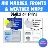 Air Masses & Fronts Activity