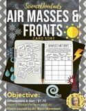 Air Masses & Fronts - Card Sort Activity