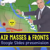 Air Masses & Fronts Google Slides Presentation