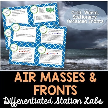 Air Masses and Fronts Student-Led Station Lab