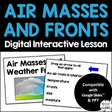Air Masses and Fronts Digital Lesson