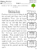 Earth Day and April Reading Fluency Bundle:1
