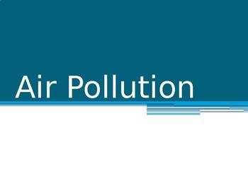Air Pollution Notes