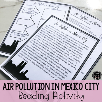 Air Pollution in Mexico City Reading Activity (SS6G2, SS6G2a)