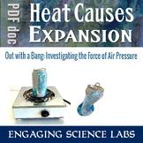 Air Pressure: Demonstrating the Intense Force of Air Pressure.