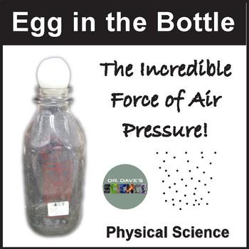 Air Pressure: Egg in Bottle
